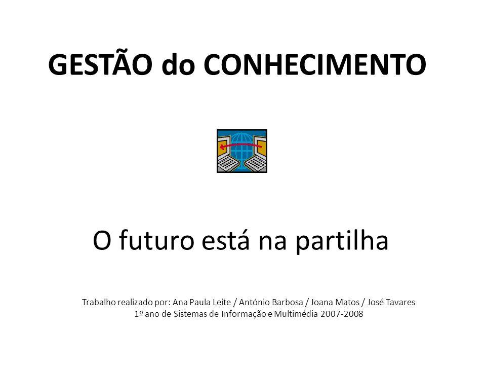 O futuro está na partilha