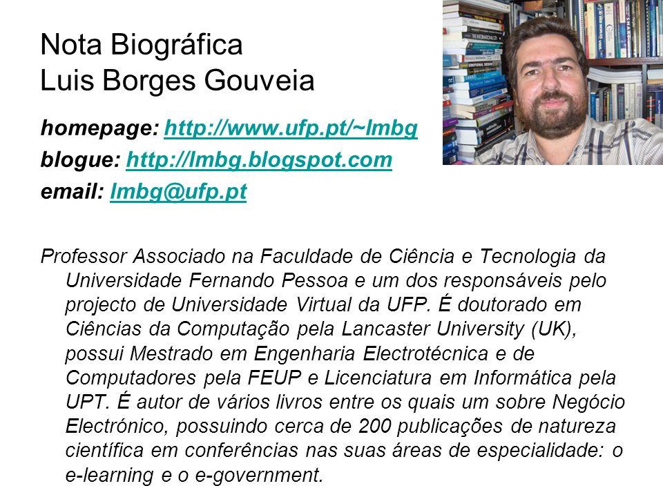 Nota Biográfica Luis Borges Gouveia