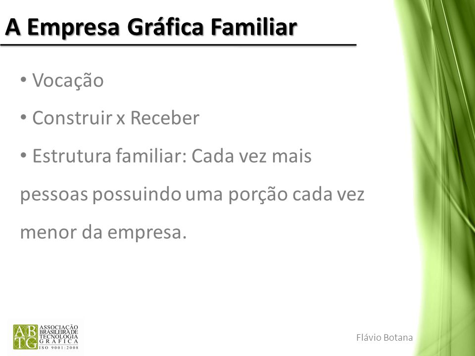A Empresa Gráfica Familiar