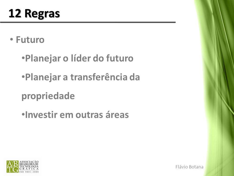 12 Regras Futuro Planejar o líder do futuro
