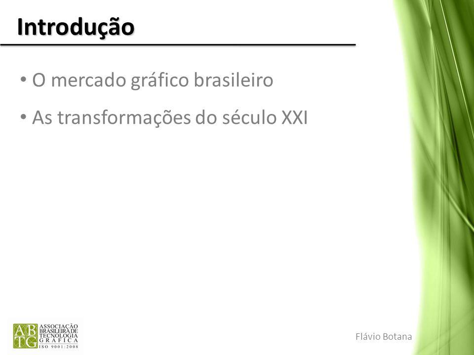Introdução O mercado gráfico brasileiro