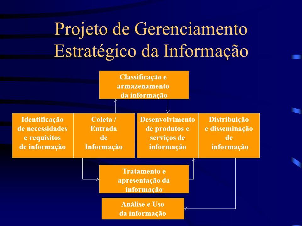 Projeto de Gerenciamento Estratégico da Informação