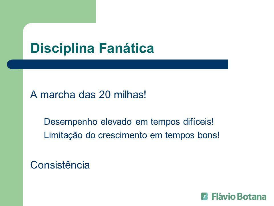 Disciplina Fanática A marcha das 20 milhas! Consistência