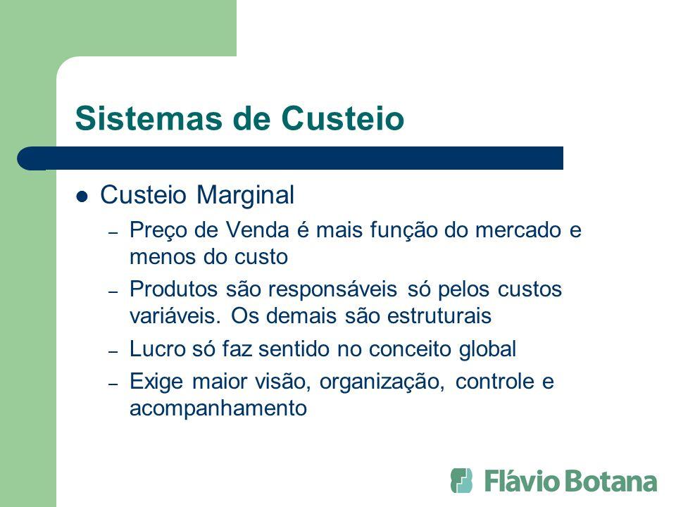 Sistemas de Custeio Custeio Marginal