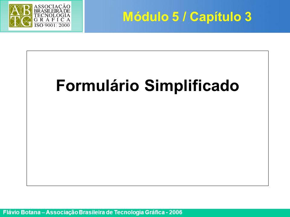 Formulário Simplificado