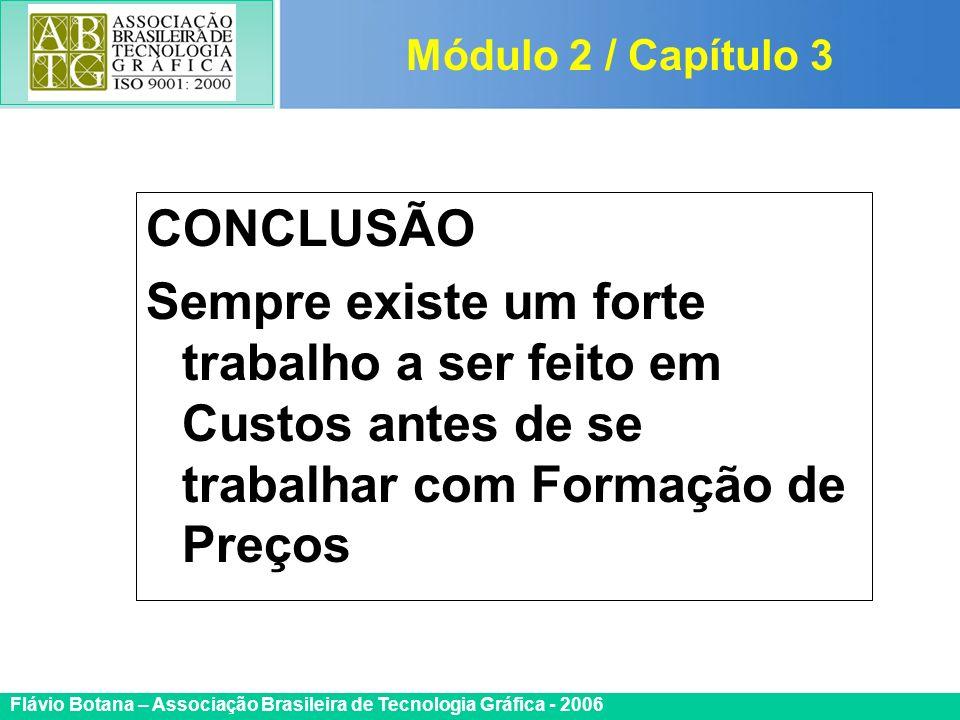 Módulo 2 / Capítulo 3 CONCLUSÃO.