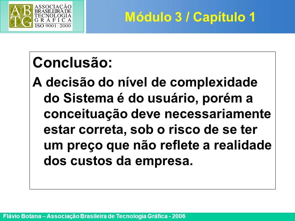 Conclusão: Módulo 3 / Capítulo 1
