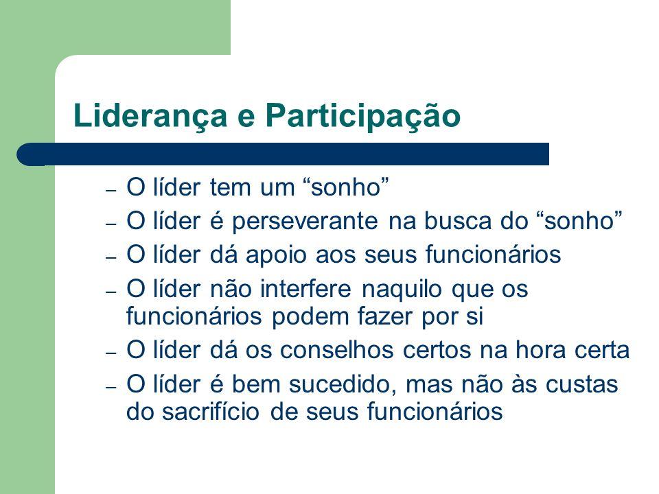 Liderança e Participação