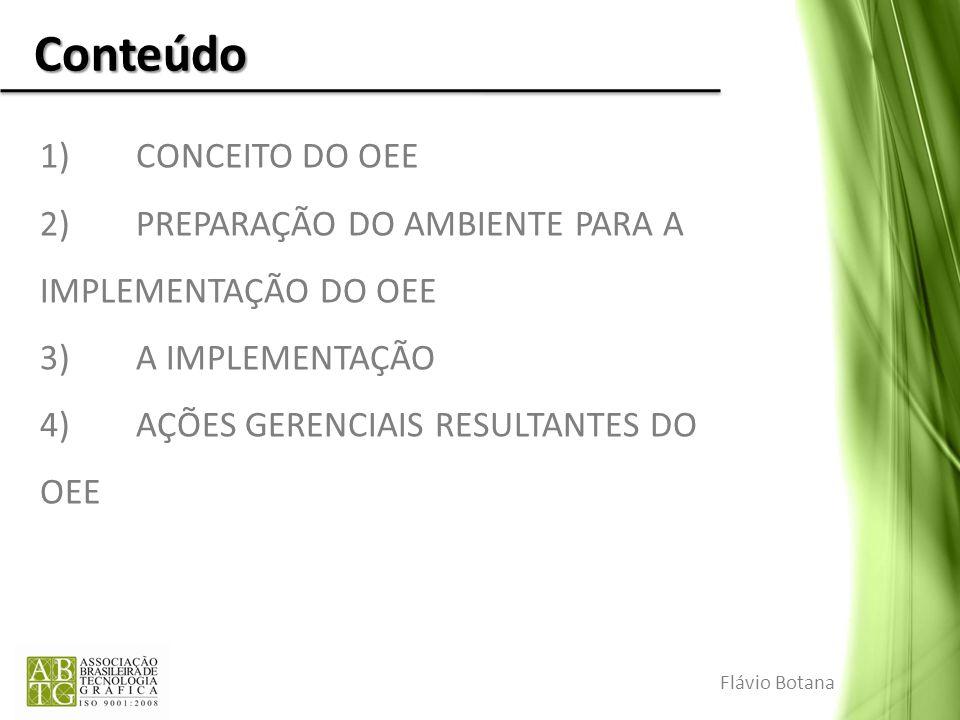 Conteúdo 1) CONCEITO DO OEE