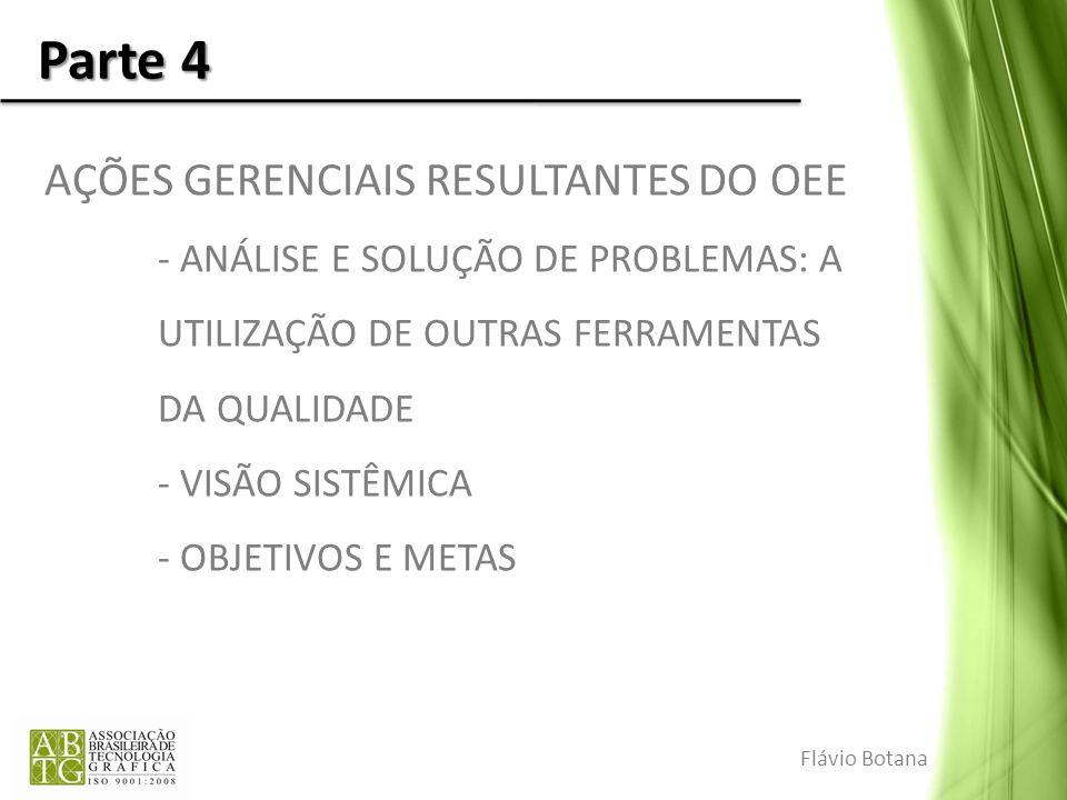 Parte 4 AÇÕES GERENCIAIS RESULTANTES DO OEE