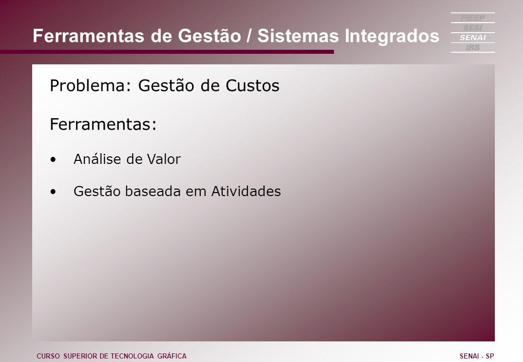 Ferramentas de Gestão / Sistemas Integrados