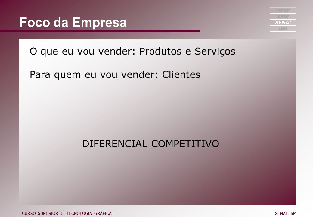 DIFERENCIAL COMPETITIVO