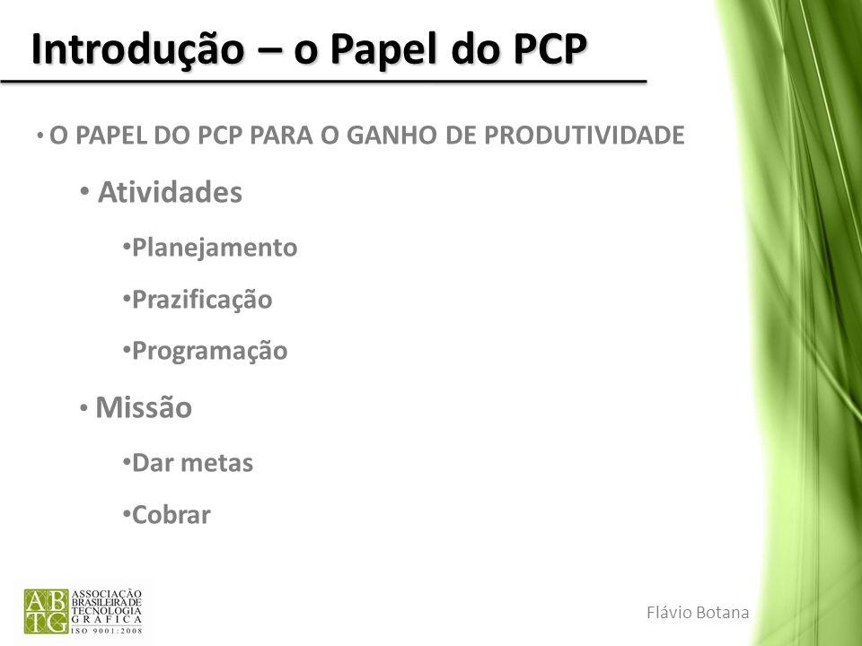 Introdução – o Papel do PCP