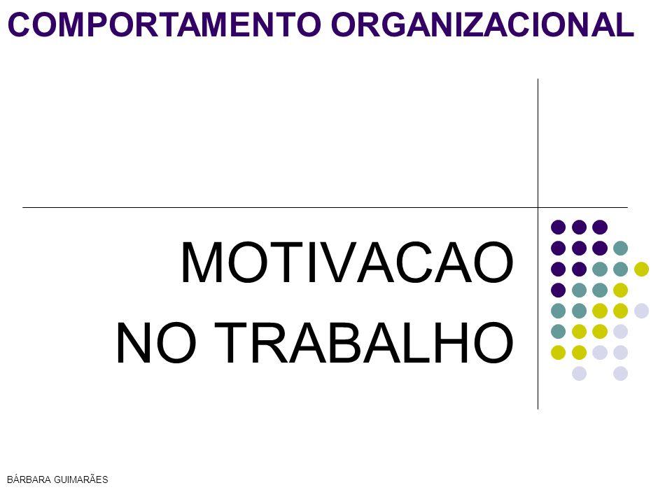 MOTIVACAO NO TRABALHO