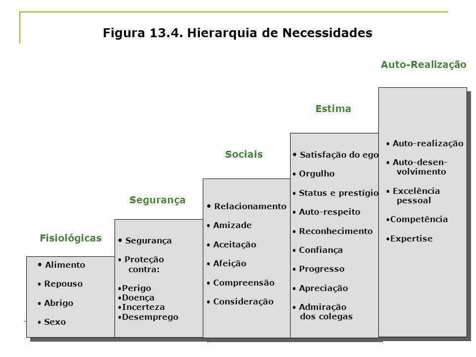 Figura 13.4. Hierarquia de Necessidades
