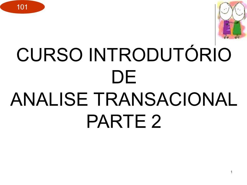 CURSO INTRODUTÓRIO DE ANALISE TRANSACIONAL PARTE 2
