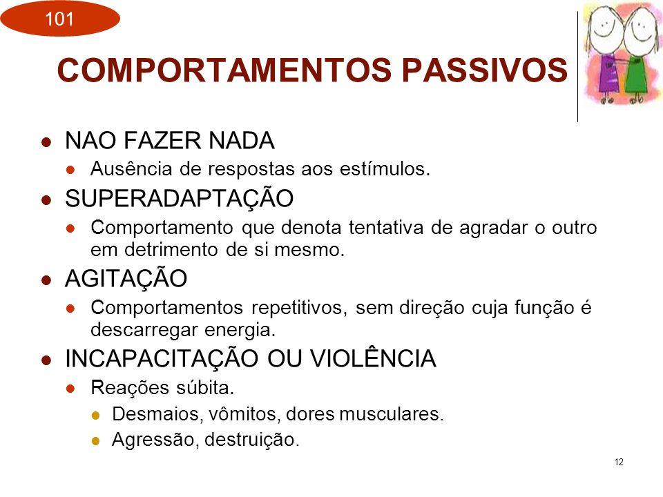 COMPORTAMENTOS PASSIVOS