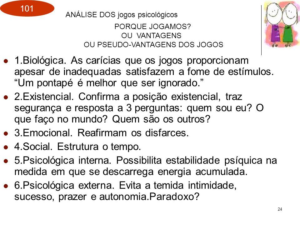 OU PSEUDO-VANTAGENS DOS JOGOS