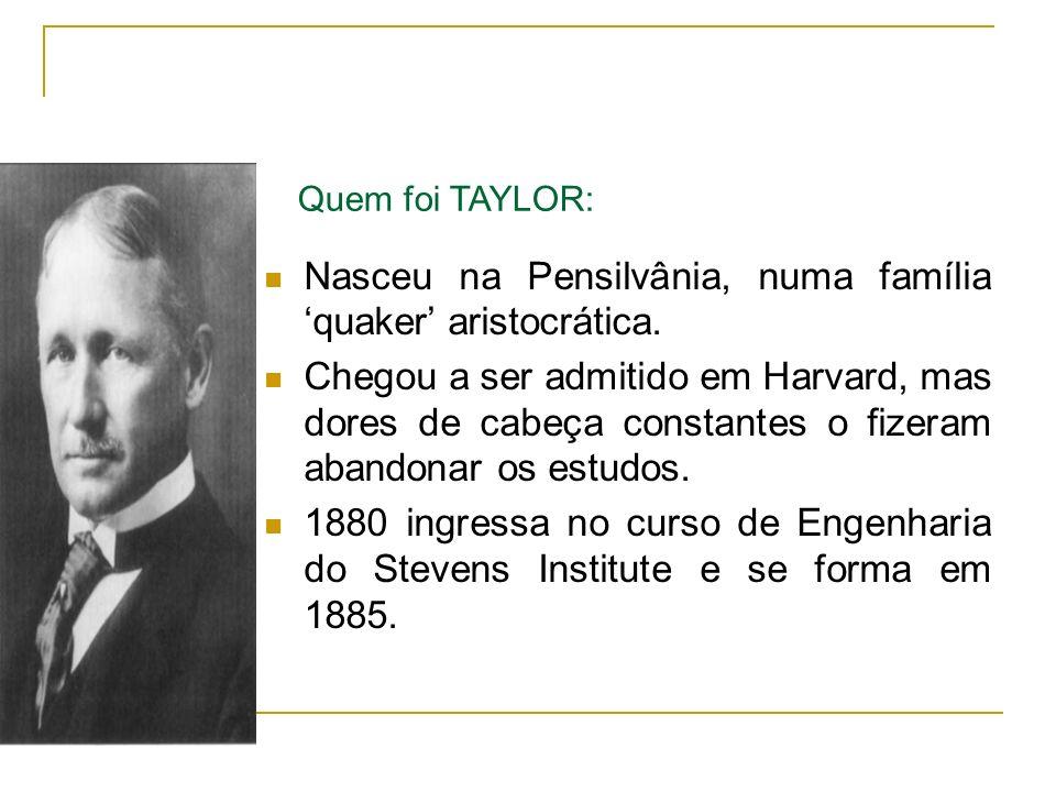 Nasceu na Pensilvânia, numa família 'quaker' aristocrática.