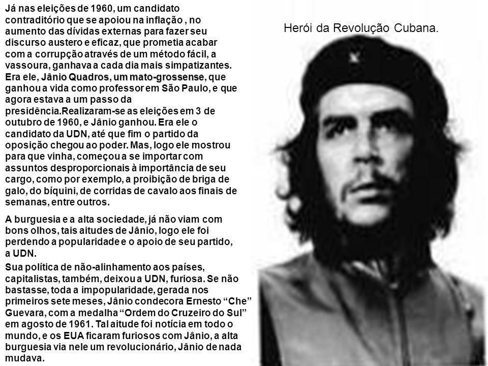 Herói da Revolução Cubana.