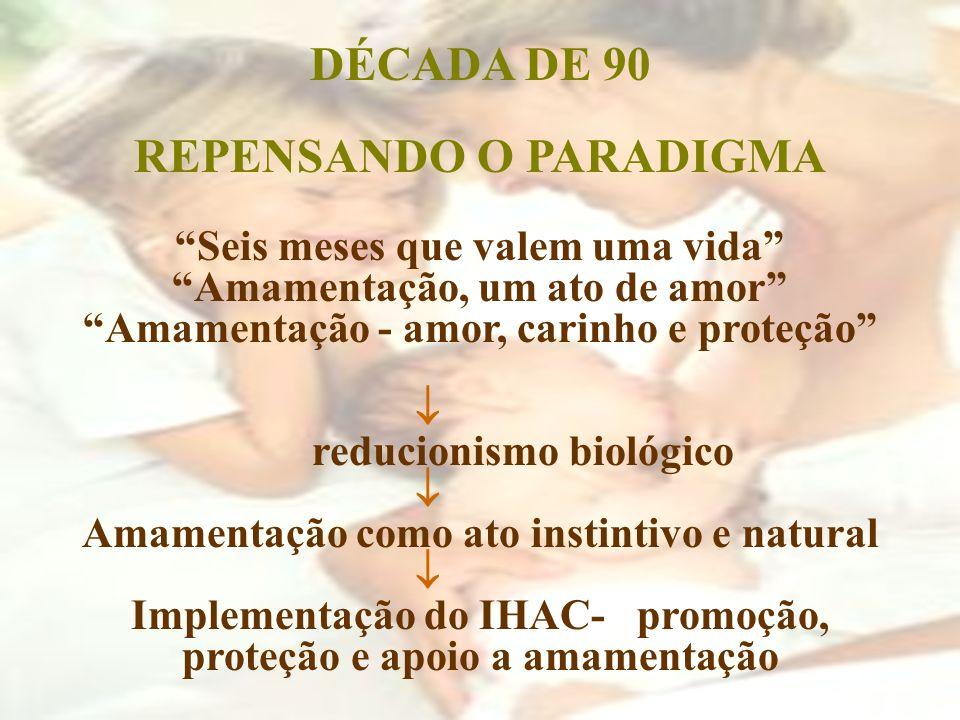 DÉCADA DE 90 REPENSANDO O PARADIGMA