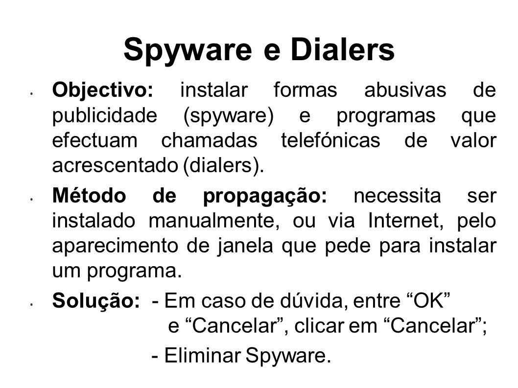 Spyware e Dialers