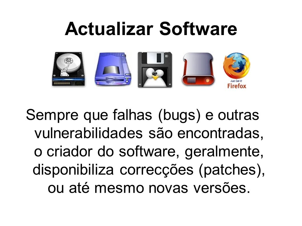 Actualizar Software