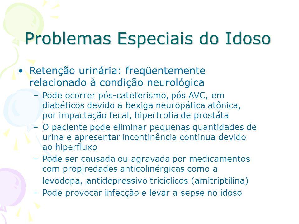 Problemas Especiais do Idoso