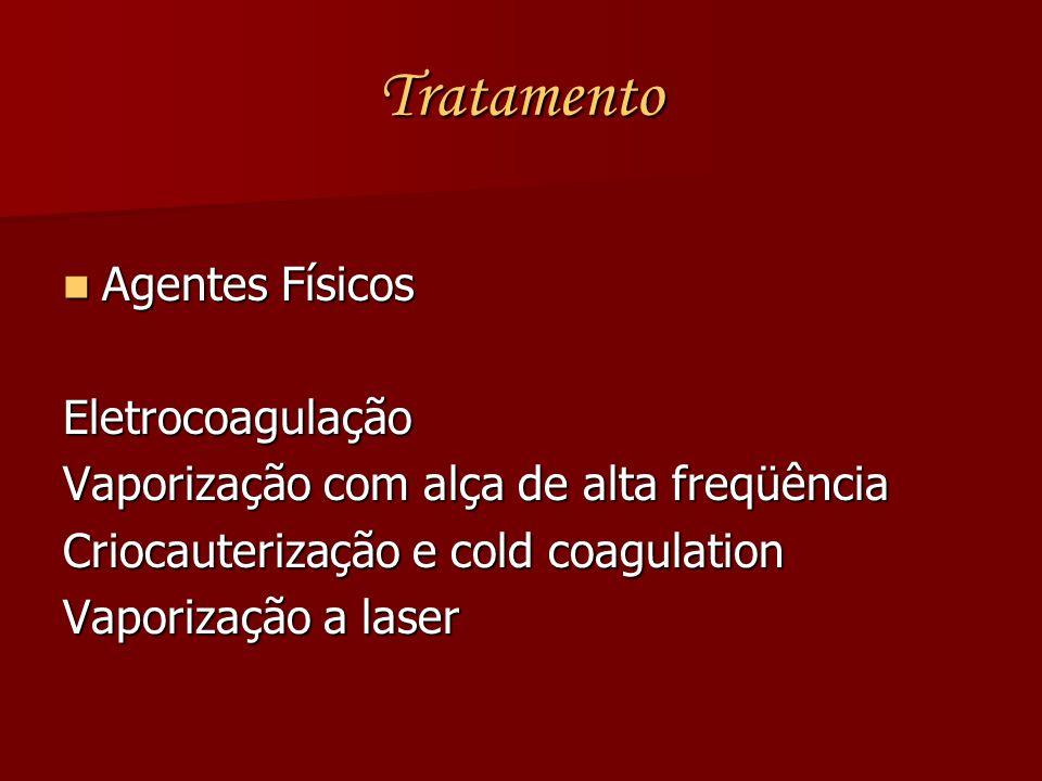 Tratamento Agentes Físicos Eletrocoagulação