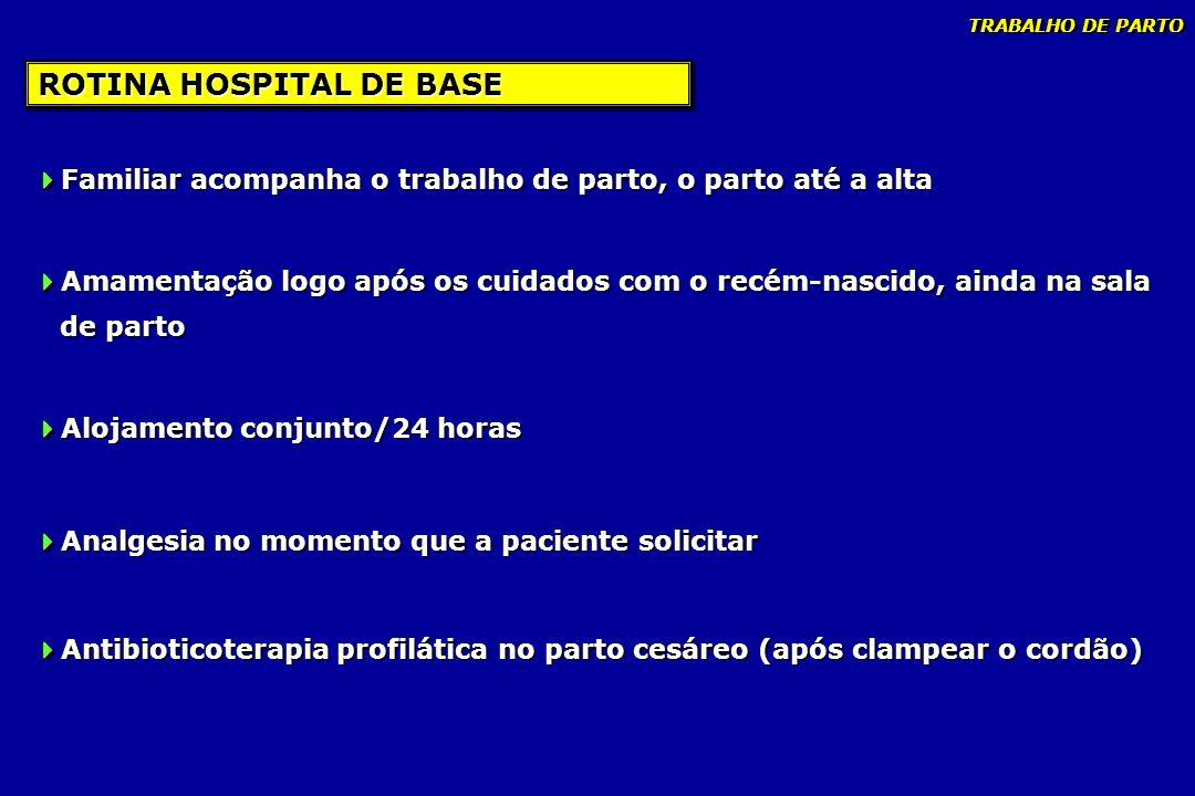 ROTINA HOSPITAL DE BASE