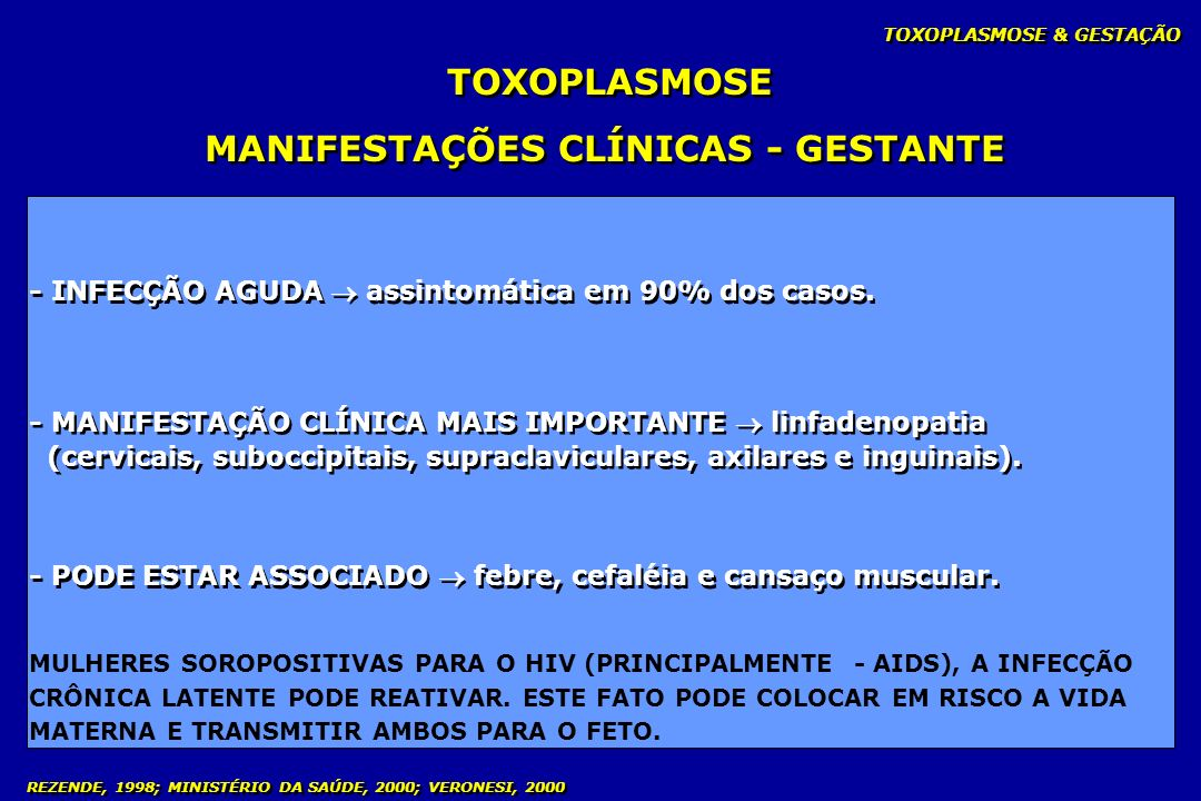 MANIFESTAÇÕES CLÍNICAS - GESTANTE