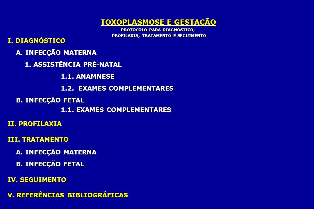 PROTOCOLO PARA DIAGNÓSTICO, PROFILAXIA, TRATAMENTO E SEGUIMENTO