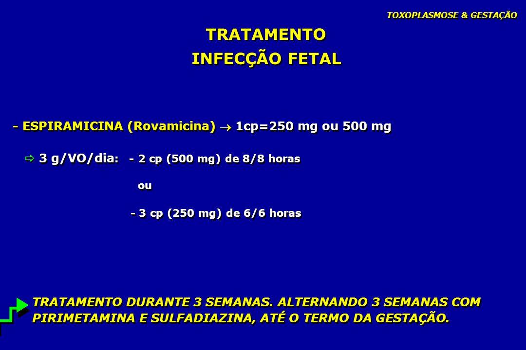 TRATAMENTO INFECÇÃO FETAL