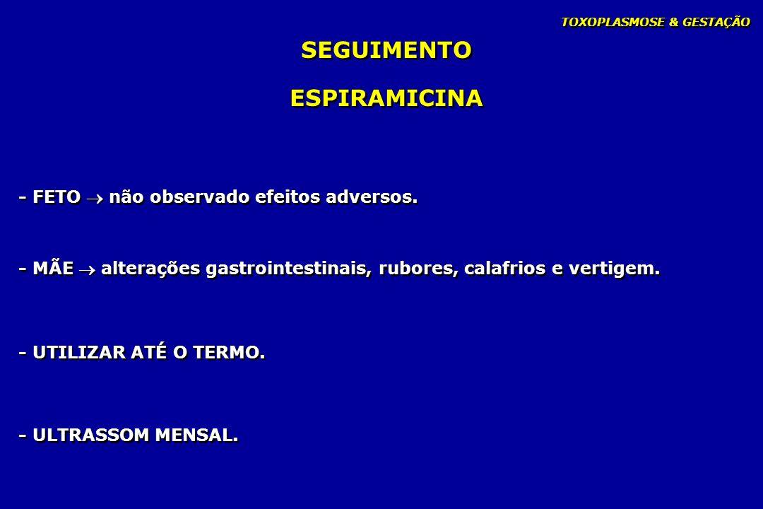 SEGUIMENTO ESPIRAMICINA