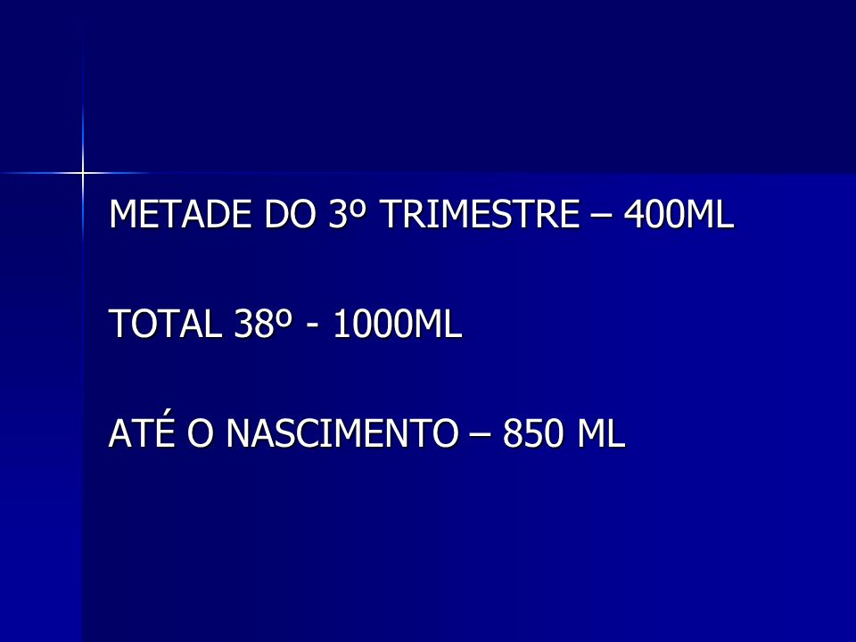 METADE DO 3º TRIMESTRE – 400ML
