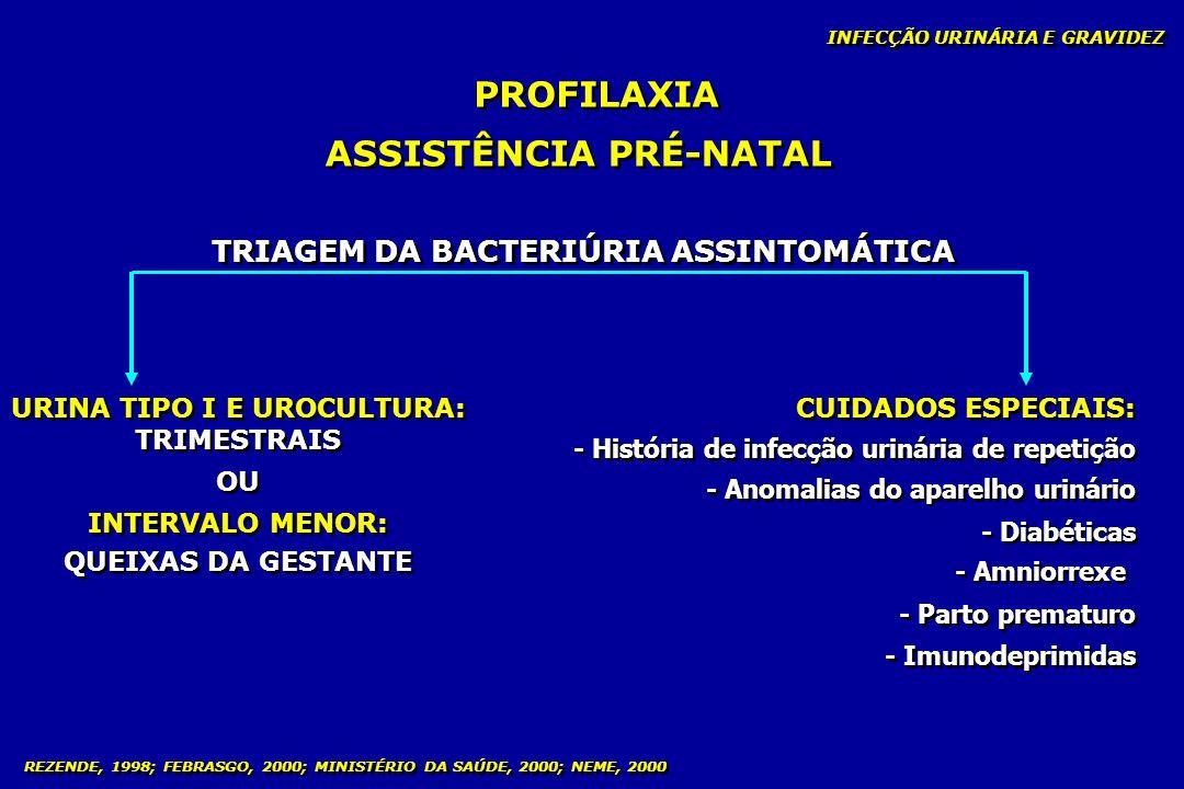 PROFILAXIA ASSISTÊNCIA PRÉ-NATAL