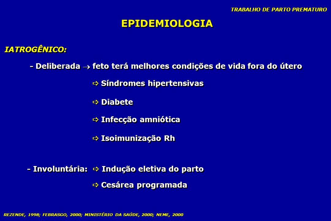 EPIDEMIOLOGIA IATROGÊNICO: