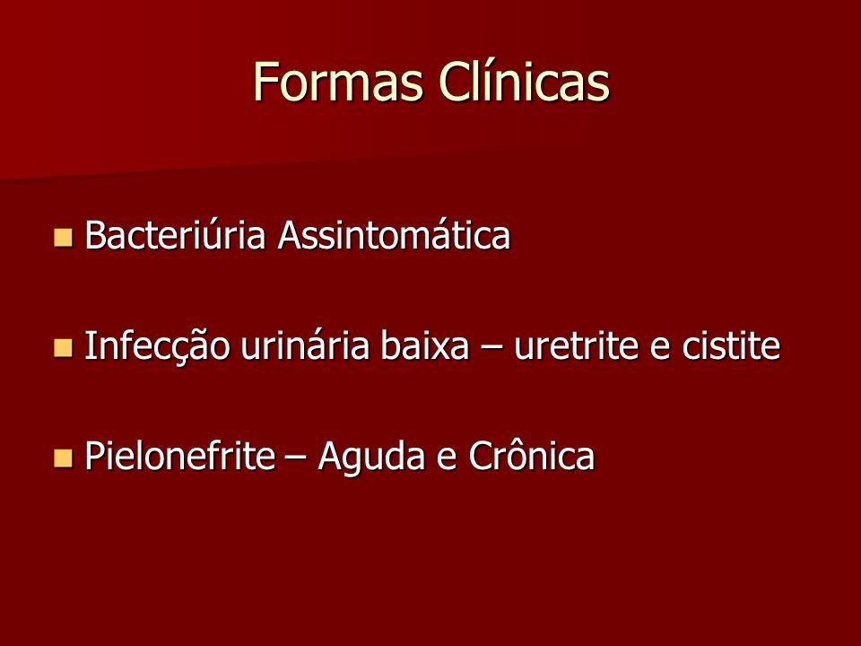 Formas Clínicas Bacteriúria Assintomática