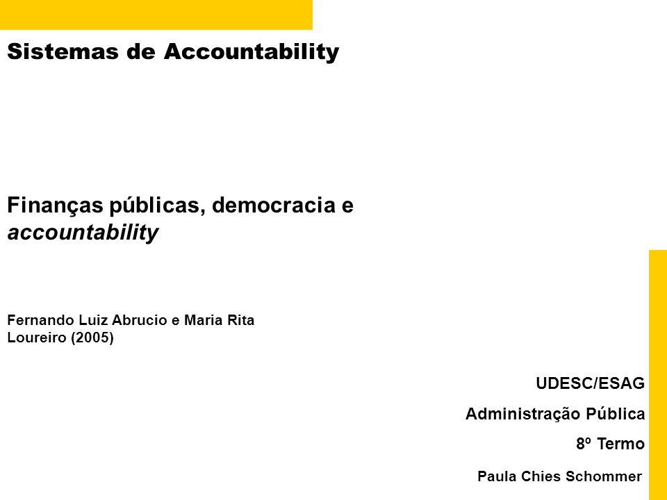 Sistemas de Accountability