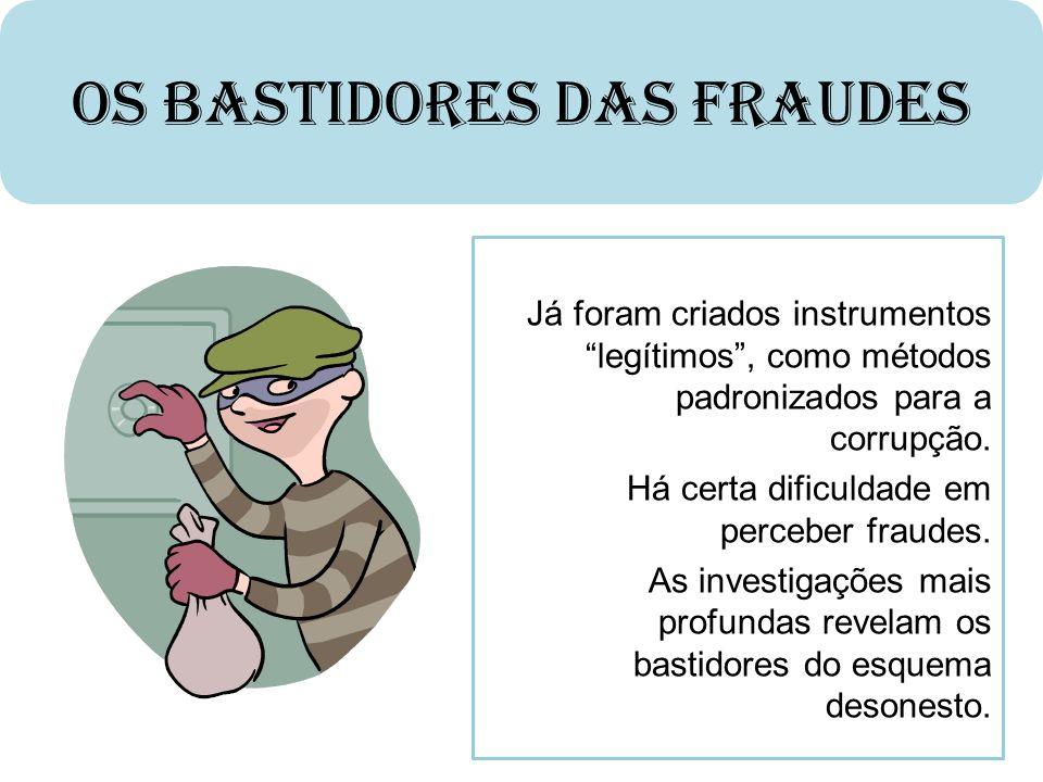 Os Bastidores das Fraudes