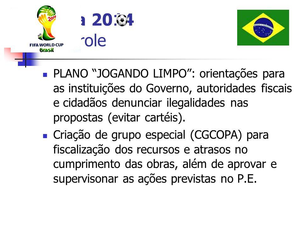 Copa 2014 Controle