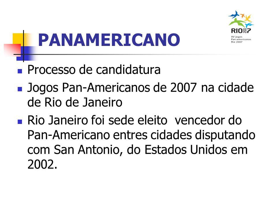 PANAMERICANO Processo de candidatura