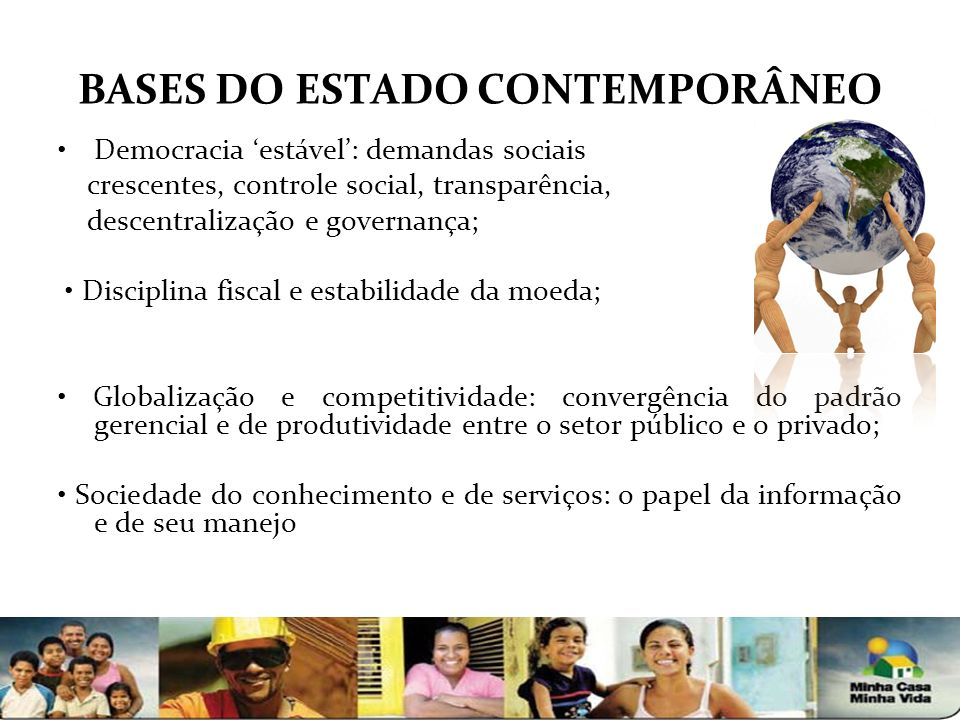 BASES DO ESTADO CONTEMPORÂNEO