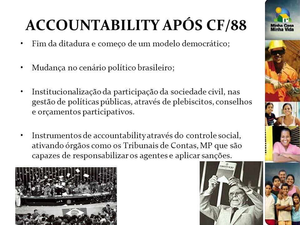ACCOUNTABILITY APÓS CF/88