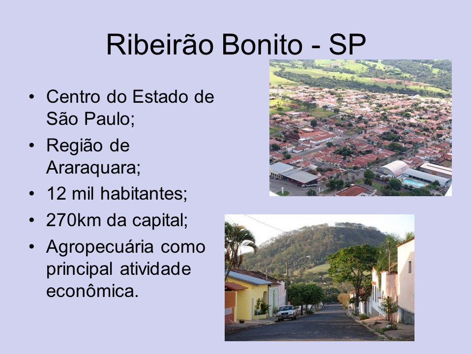 Ribeirão Bonito - SP Centro do Estado de São Paulo;