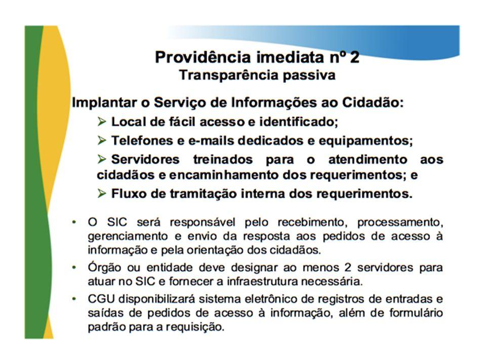 Site sobre a Lei de Acesso à Informação: CONTROLADORIA-GERAL DA UNIÃO