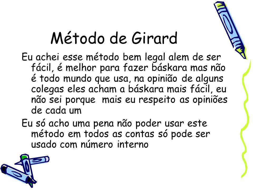 Método de Girard