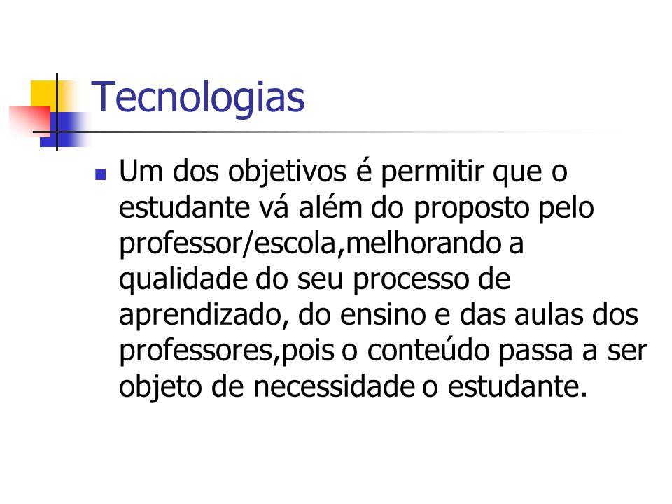 Tecnologias