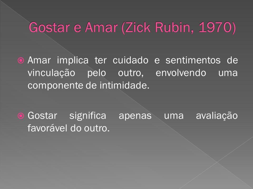 Gostar e Amar (Zick Rubin, 1970)