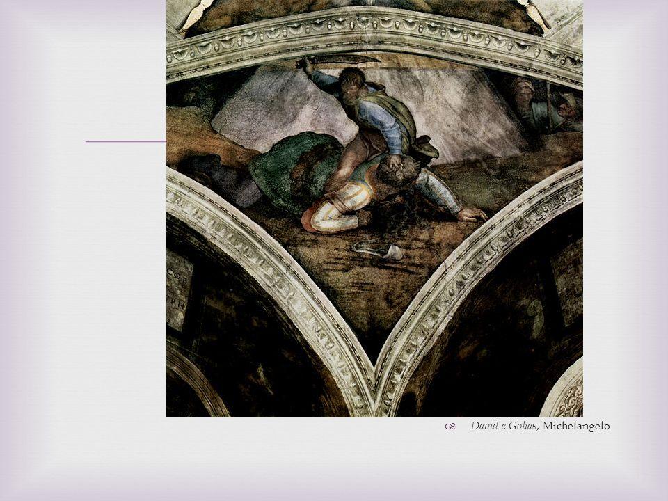 David e Golias, Michelangelo